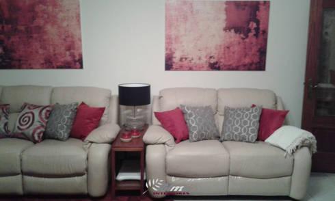 Sala RED: Sala de estar  por Palma Interiores