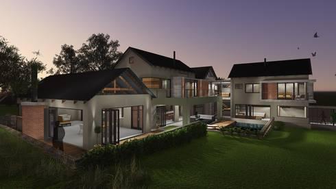 House Perregil: modern Houses by Kraft Architects