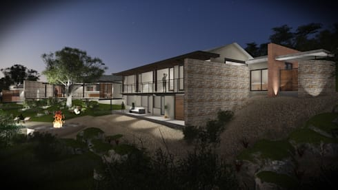 House Rudolph : modern Houses by Kraft Architects