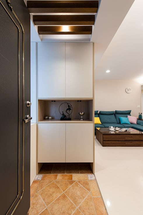 Projekty,   zaprojektowane przez 森叄室內裝修設計有限公司
