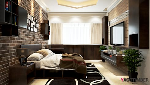Bedroom design 1 rustic bedroom by yagotimber com