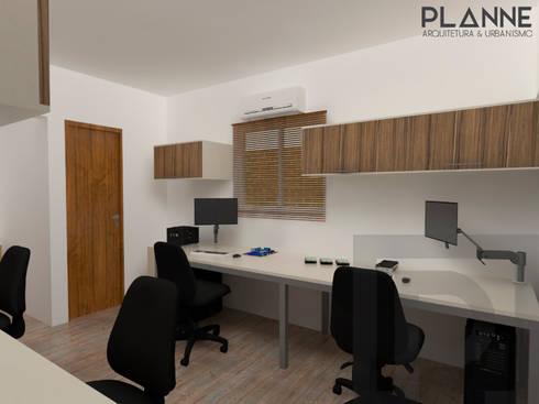 Meu Universo Virtual - Área de trabalho: Lojas e espaços comerciais  por Planne Arquitetura & Urbanismo