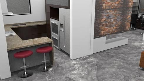 Diseño y asesoria arquitectonica. : Cocinas de estilo moderno por no aplica
