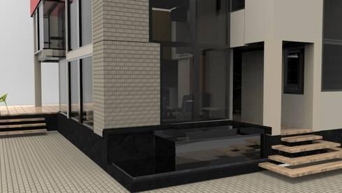 Diseño y asesoria arquitectonica. : Casas de estilo moderno por no aplica