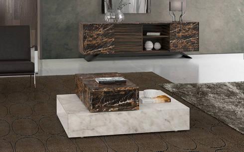 BOX SET: Salas de estar minimalistas por Maami Home