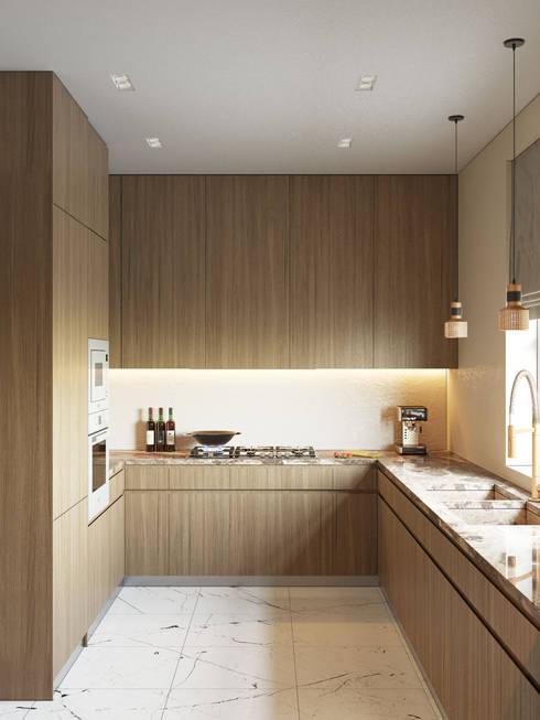 Интерьер кухни: Кухни в . Автор – Studio 25