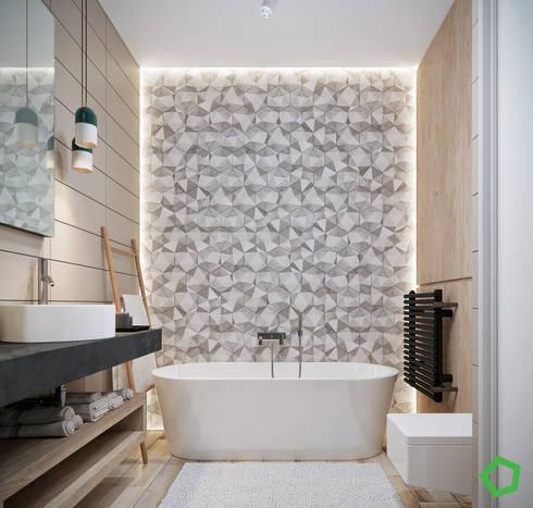 modern Bathroom by Polygon arch&des