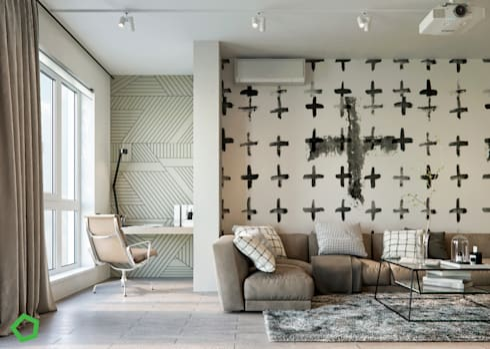 modern Study/office by Polygon arch&des