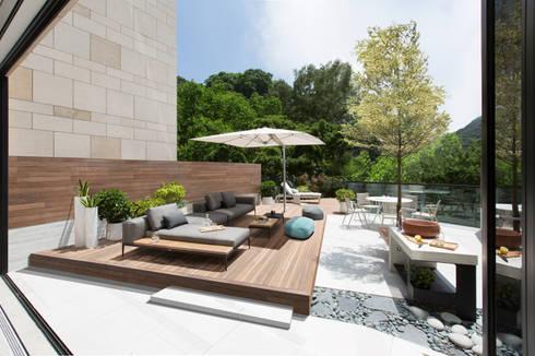 Jump into the Garden: modern Garden by Sensearchitects_Limited