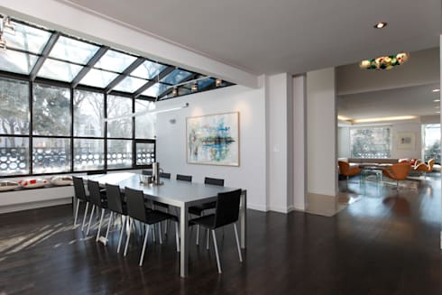 ZT Residence Interiors : modern Conservatory by Unit 7 Architecture