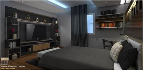 งานบิ้วห้องนอน เทพศิรินทร์ นนทบุรี:   by nobel design