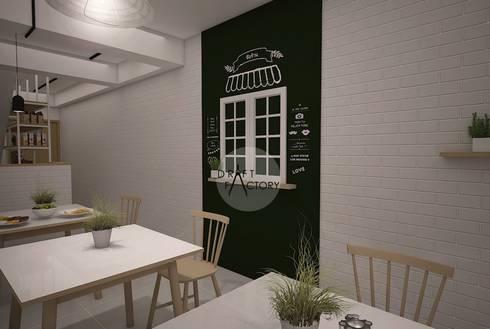 ร้านอาหารขนาด 30 ตร.ม.:   by Draft Factory