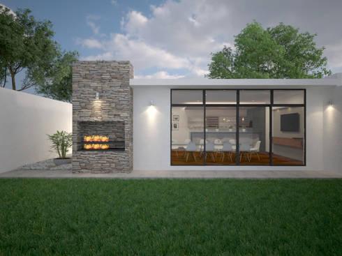 Propuesta de diseño arquitectónico: Cavas de estilo moderno por RB Arquitectos