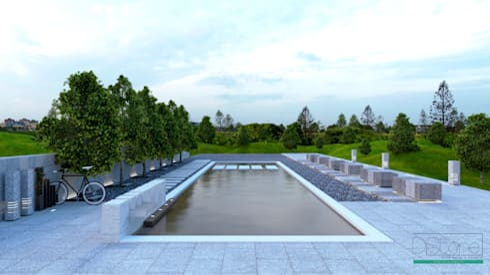 Ambiente Urbano: Jardim  por Distone