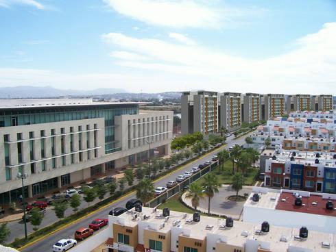 Torres del Rio - MAC Arquitectos Consultores: Casas de estilo moderno por MAC Arquitectos Consultores