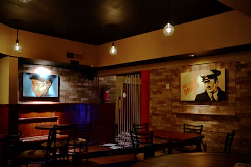 La Mezcaleria No. 4: Bares y discotecas de estilo  por Habitá Estudio Creavtivo