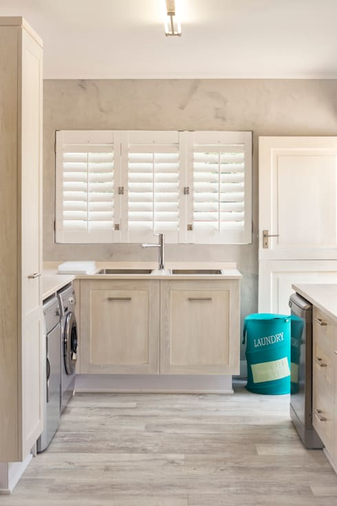 New scullery:  Kitchen by Deborah Garth Interior Design