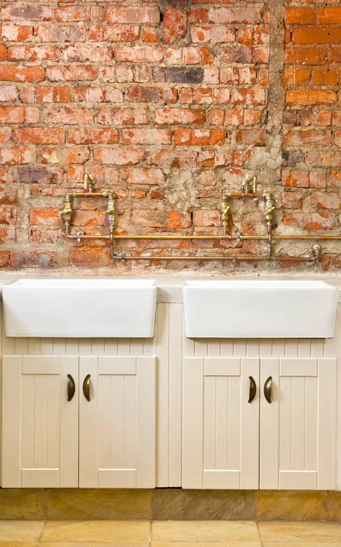 renovated scullery:  Kitchen by Deborah Garth Interior Design