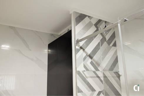 Detalhes: Casas de banho modernas por Ci interior decor