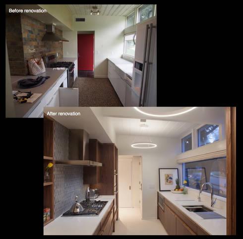 Emerald Street Residence, New Orleans: modern Kitchen by studioWTA