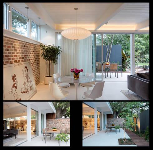 Emerald Street Residence, New Orleans: modern Living room by studioWTA
