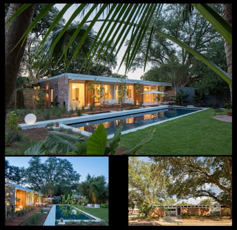 Emerald Street Residence, New Orleans: modern Houses by studioWTA