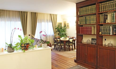 Ristrutturazione appartamento su due livelli di fabiola for Ristrutturazione a pianta aperta su due livelli