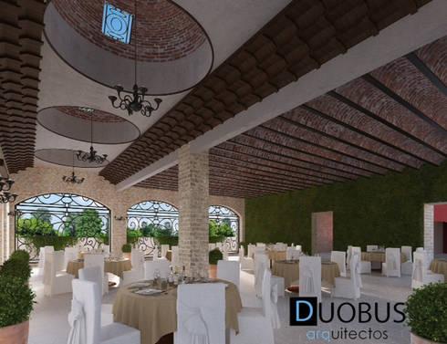 Interior Salón 2: Terrazas de estilo  por DUOBUS M + L arquitectos