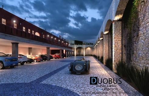 EXTERIOR: Casas de estilo colonial por DUOBUS M + L arquitectos