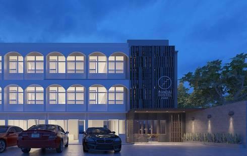 Bandai Poshtel:  โรงแรม by bandai architects studio