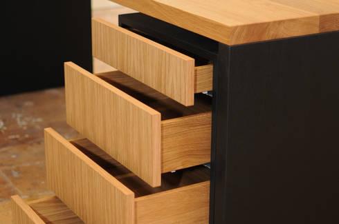 Schreibtisch Eiche massiv geölt von Daniel Renken \