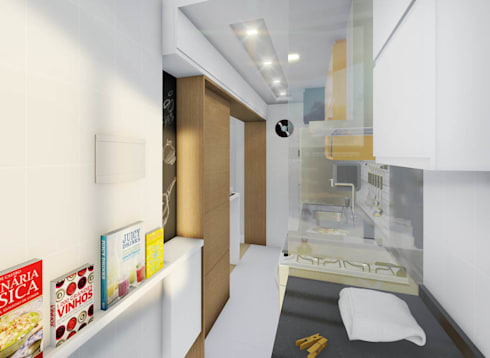 Cozinhas modernas por JS Interiores