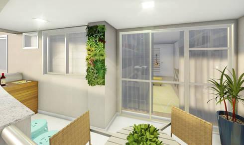 Jardins modernos por JS Interiores