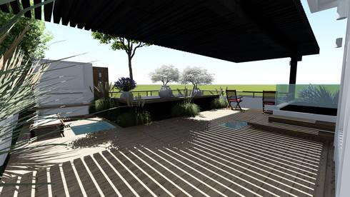 Terraza:  de estilo  por Diseño Alternativo Arquitectos