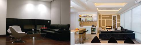 Apto Cr 2 – Cll 69:  de estilo  por Bloque B Arquitectos