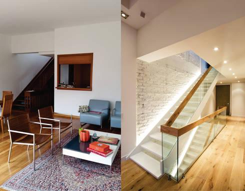 Apto Cr 19 – Cll 88:  de estilo  por Bloque B Arquitectos