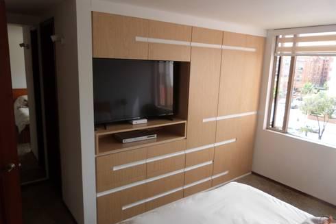 Mobiliario: Dormitorios de estilo  por Lúdico Arquitectos