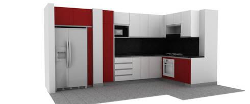 Mobiliario: Cocina de estilo  por Lúdico Arquitectos