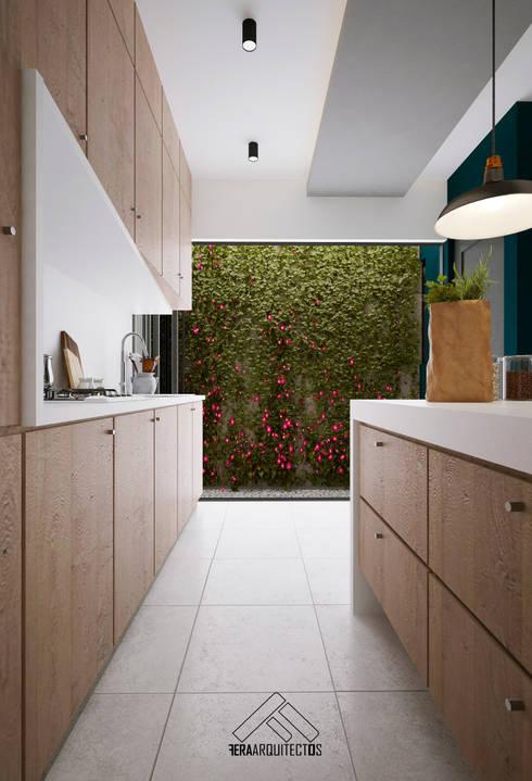 COCINA: Cocinas de estilo minimalista por FERAARQUITECTOS