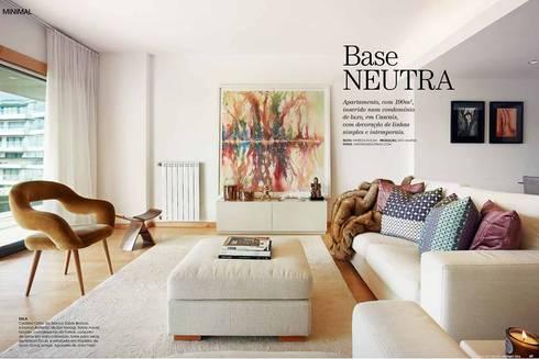 Patine na Caras Decoração: Salas de estar modernas por Patine