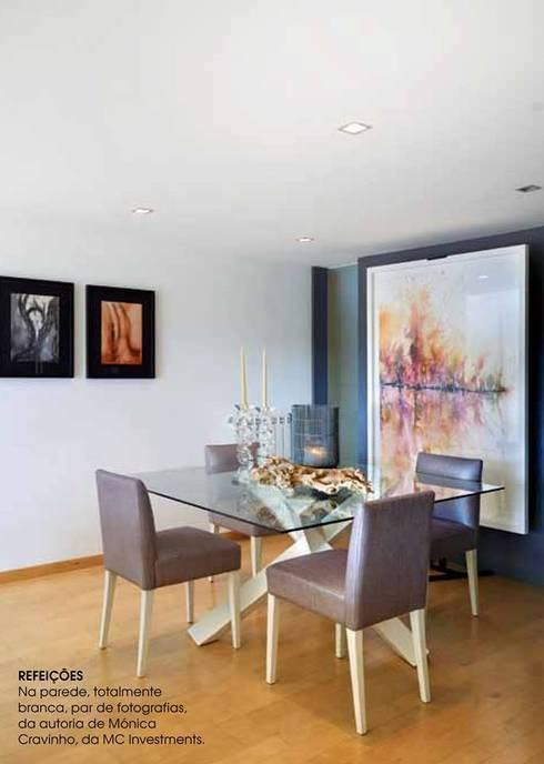 Patine na Caras Decoração: Salas de jantar modernas por Patine