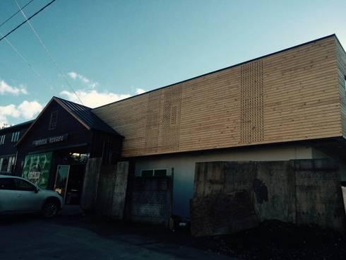 Bodega Rengifo: Oficinas y Comercios de estilo  por Naritelli-Bravo Arquitectos