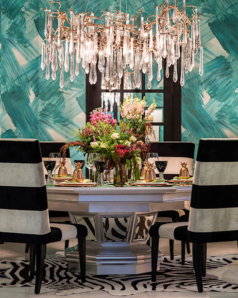 modern Dining room by Design Intervention
