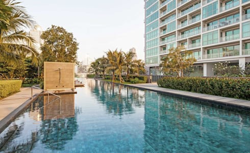 The River: asian Pool by HB Design Pte Ltd