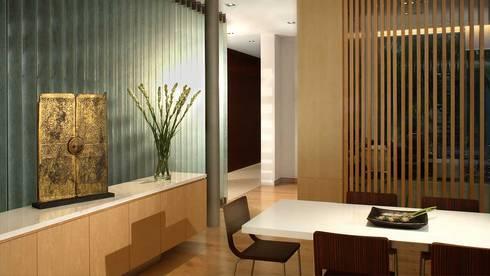 Whitehouse Park: asian Study/office by HB Design Pte Ltd
