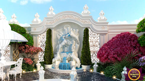 Landscaping of Katrina Antonovich : mediterranean Garden by Luxury Antonovich Design