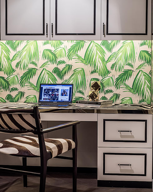 modern Study/office by Design Intervention