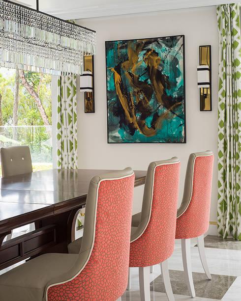 modern Dining room by Design Intervention