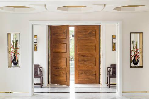 Corridor, hallway by Design Intervention