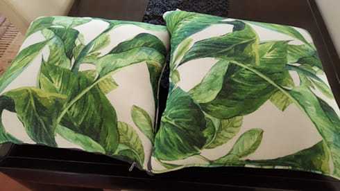 Guest Bedroom cushions: country Bedroom by SOJE Interior, Design and Decor PTY (Ltd)